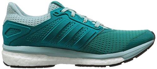 adidas Supernova Glide 8, Chaussures de Running Compétition Femme Eqt Green/Eqt Green /Clear Green