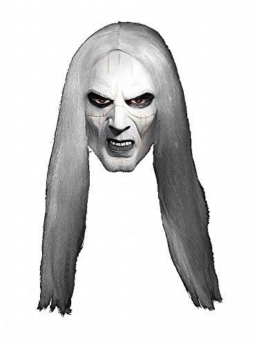 da Maske aus Latex (Hellboy Halloween-kostüm)