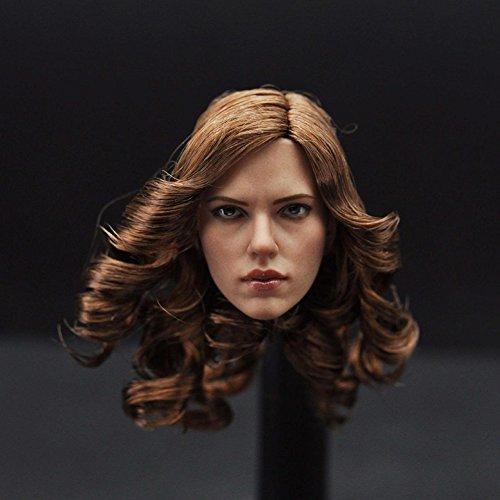 Schönheit Kopf (Lanlan 1/6 Skala Schönheit Kopf Sculpt Schöne Kopf Carving Modell Fit 12