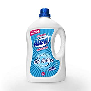 Asevi 23660Detergent Liquid Gel Active, 3Litres