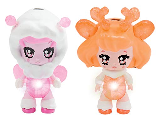Glimmies glp01000Polaris Twin Pack Sortiment Puppe Retail Blister Pack