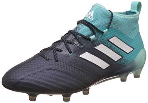 adidas Ace 17.1 Firm Ground Football Boots Scarpe Sportive Indoor Uomo, Multicolore (Multicolour Black/Green) 43 1/3 EU
