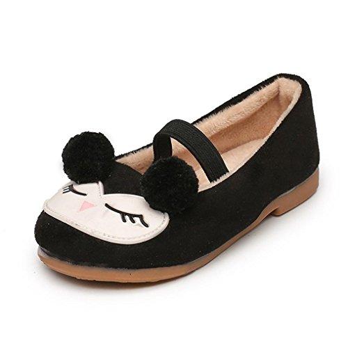 Bébé Princess Chaussures Simples,LMMVP Bambin Enfants De Gentilles Filles Princesse Mignonne de Bande Dessinée Seule Chaussures Enfants Bébé Élastique Chaussures Décontractées