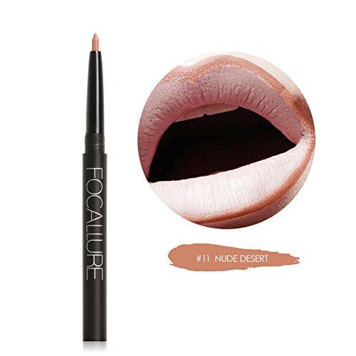 Blue Vessel Permanent Wasserdichte Lip Liner Bleistift Lippenstift Lipgloss Schönheit (11#)