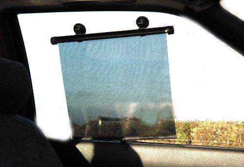 Autocare 54x 45cm Twin Pack Universal KFZ Bildschirm Sonne Schatten Roller ac594 - Screen Roller Shades
