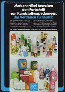 Kanister Fässer Behälter Kunststoffverpackungen Markenartikel Kautex Prospekt
