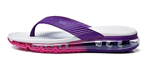 Eagsouni Hommes Femmes Tongs Flip Flops Plage Piscine Pantoufles Chaussures Sandales Violet