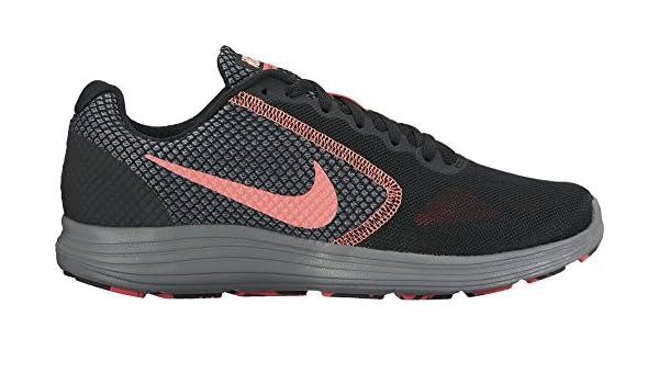 online store d589d 26d3c Nike Womens Revolution 3 Running Shoe, BlackLava GlowHot PunchCool  Grey, 9 B(M) US Amazon.in Shoes  Handbags