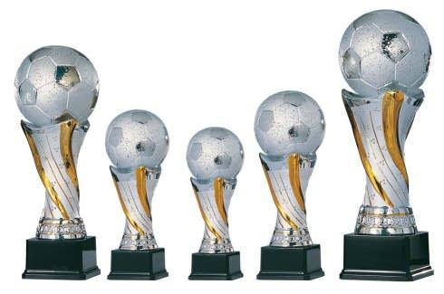 S.B.J - Sportland Edler Fußballpokal aus Keramik Größe 52 cm