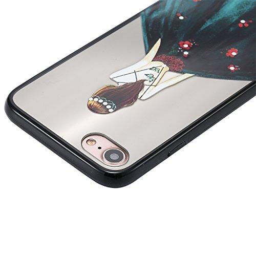 Qiaogle Telefon Case - Weiche TPU Case Silikon Schutzhülle Cover für Apple iPhone 6 / iPhone 6S (4.7 Zoll) - KT36 / Hübsches Mädchen (6) KT41 / Hübsches Mädchen (11)