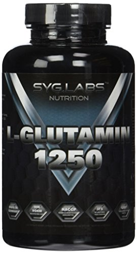 Syglabs Nutrition L-Glutamin 1250 - 120 Kapseln a 1250 mg Glutamin, 1er Pack (1 x 151 g)