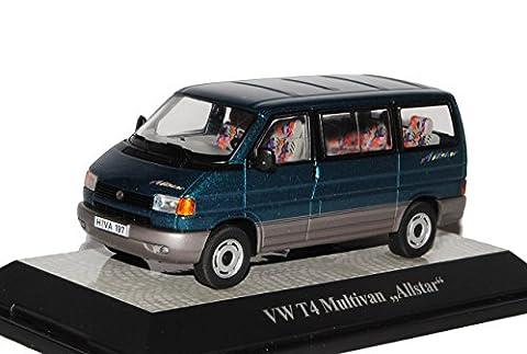 VW Volkswagen T4 Multivan Allstar Transporter Personen Grün 1990-2003 1/43 Premium ClassiXXs Modell Auto mit individiuellem Wunschkennzeichen