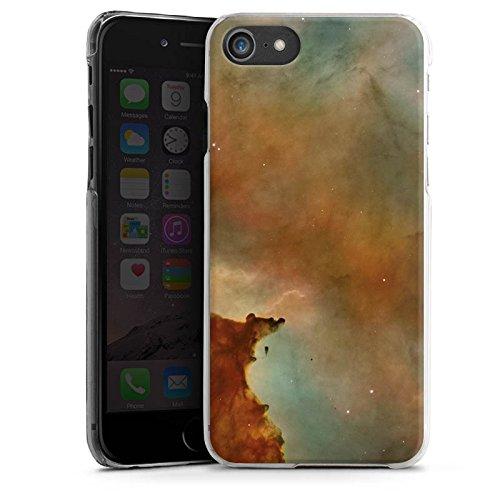 Apple iPhone X Silikon Hülle Case Schutzhülle Galaxy Carina Nebel Muster Hard Case transparent