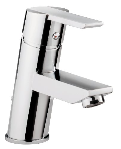 AquaSu 78770 3 Einhandmischer Casper für Waschtisch , Chrom , Wasserhahn , Einhebelmischer