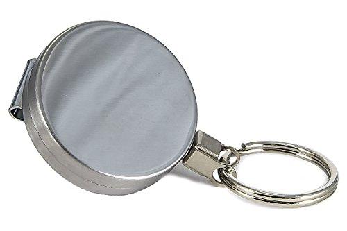 ReNa-Retail Jojo/Schlüsselhalter mit STAHLSEIL/Kette (Stahlseil Typ 1, Ø 43mm)