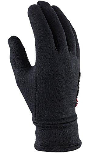 viking Multifunktions Handschuhe Damen und Herren extra warm für Eislaufen, Jogging, Wandern, Radfahren - Nepal, 09 schw, 7