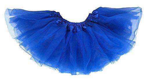 geborenen Tüllrock Tutu für 0 bis 24 Monate Königsblau 6-24 Monate (Lollipop Kinder Kostüm)
