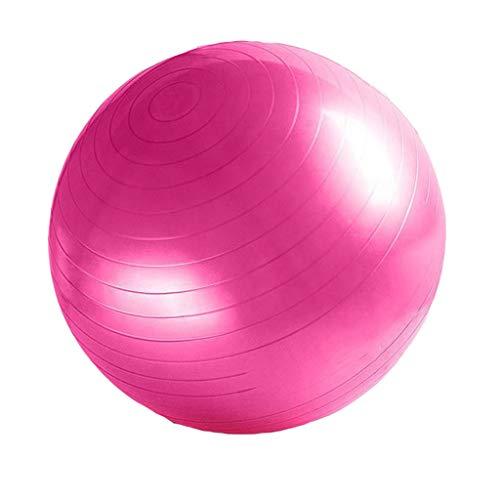 YxlAB Yoga-Ball, Explosionssichere Gewichtverlustübung Schwangeren Üben 55CM/65CM/75CM-Eignungsball Um Luftpumpe Zu Senden (Farbe : Pink, größe : 65cn)