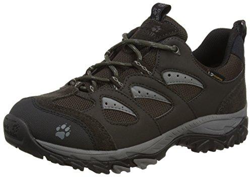 Jack Wolfskin MTN STORM TEXAPORE LOW W, Damen Trekking- & Wanderhalbschuhe, Grau (tarmac grey 6011), 40.5 EU (7 Damen UK)