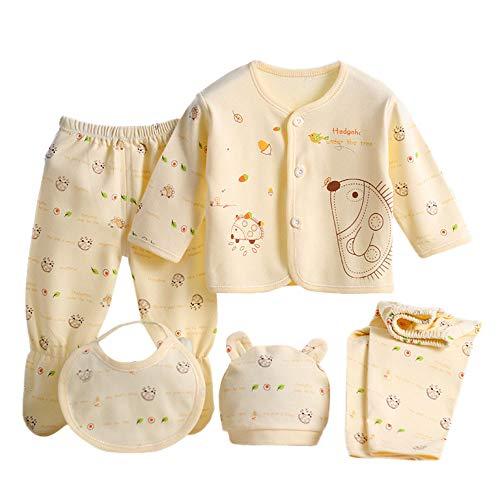 0d2a5ece Value Pack Recién Nacido Bebé, LANSKIRT 6PCS Bebé Niña Niño Dibujos ...