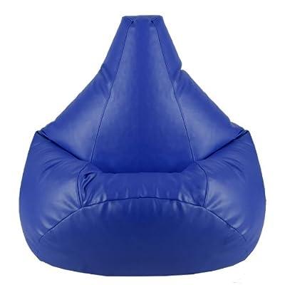 Hi-BagZ® Gaming Beanbag Faux Leather BLUE Bean Bag Chair