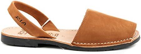 RIA MENORCA Scarpe Sandalo Donna 20002-S2 Nubuk Cuero Primavera Estate 2018