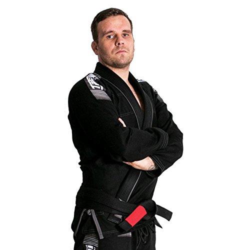 Tatami fightwear uomo nova + plus bjj gi, uomo, nova-plus-black-bjj-gi-a2xl, nero, size a2x-large