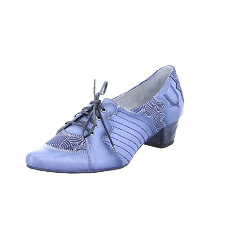 Maciejka Damen Pumps 03200-17 Leder Blau