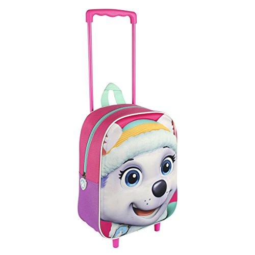 Preisvergleich Produktbild Paw Patrol Rucksack Trolley rosa