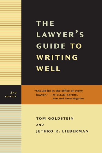 The Lawyer's Guide to Writing Well (English Edition)