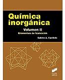 Química inorgánica. Volumen 2: Elementos de transición (Ciencias Químicas. Manuales de Químicas)