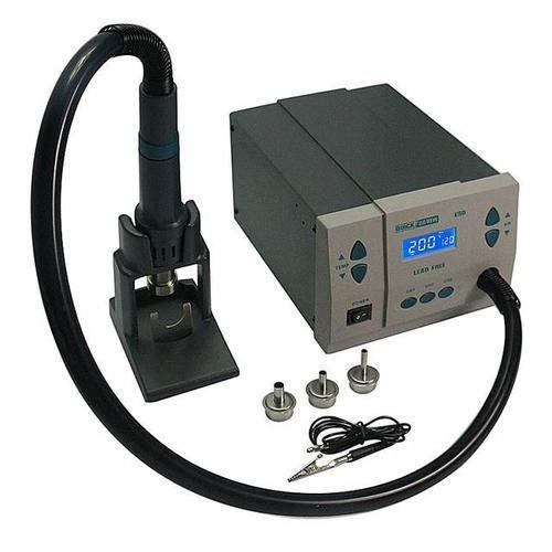 KG Tech Quick 861DW 1000W 110V-240V AC 120L/MIN Digital Soldering Station Hot Air Rework Station