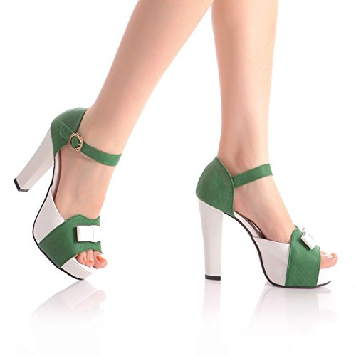 ZPPZZP Presidente, sandali, pantofole a tacco alto, estate, stile Coreano 38EU