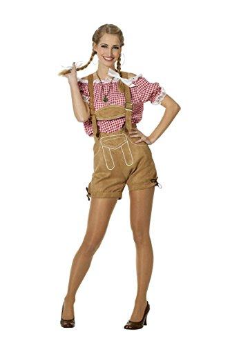 Damen Bluse Trachtenbluse Tirol Country Karneval Oktoberfest Gr.48