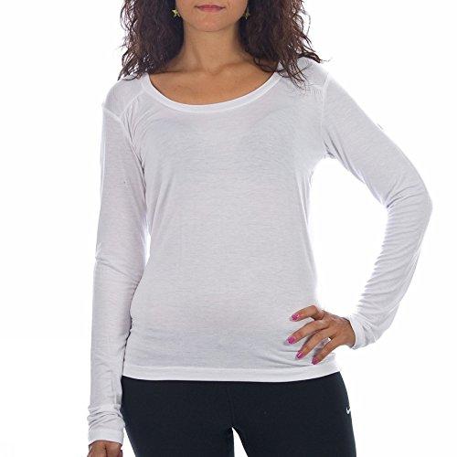 Arena -  T-shirt - Donna Bianco bianco XL