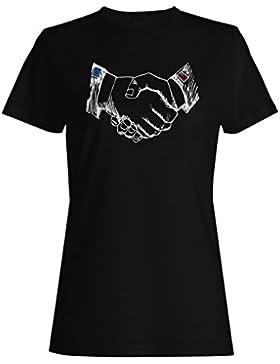 Alianza entre países eu us camiseta de las mujeres a431f