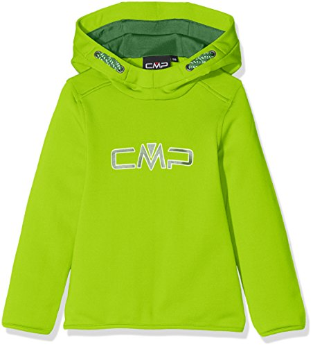 CMP F.lli Campagnolo Jungen Fleece Sweat, Lime Green, 140, 3E14344 (Jungen-lime Green)