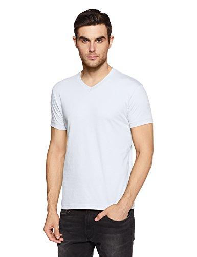Jockey Men's T-Shirt (2726-0105-WHITE_White_L)