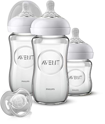 Philips Avent SCD303/01 Kit nouveau-né Natural Verre