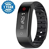 Captcha Professional Smart Activity Tracker With Heart Rate Monitor For Android, Iphone And Other Smartphones ( Assorted Colour ) (One Year Warranty, Color May Vary)