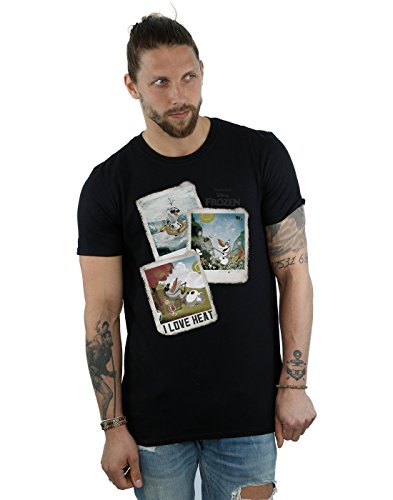 Disney Herren Frozen Olaf Polaroid T-Shirt XX-Large (Olaf Disney Frozen)