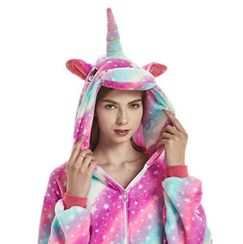 hlafanzug Einhorn Cosplay Pyjamas Winter Warm Home Service ()