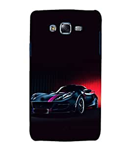 printtech Superfast Car Back Case Cover for Samsung Galaxy J2 / Samsung Galaxy J2 J200F