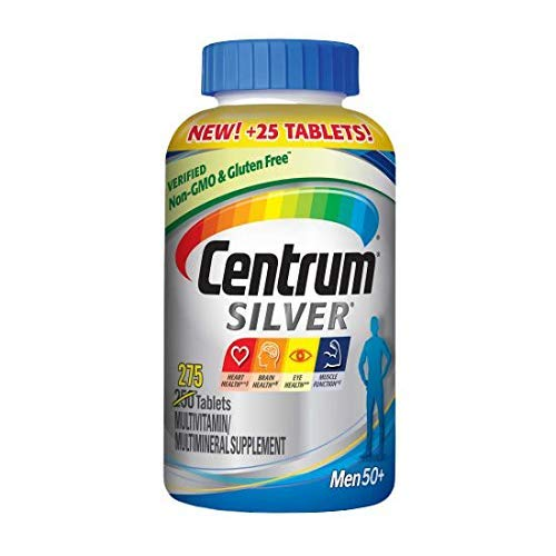 Centrum Silver Men 50+, 275 Tablets