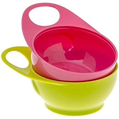 Fratello Max 2 Facile Presa Bocce Colore Rosa / Verde 2 Per Confezione - Confezione da 2