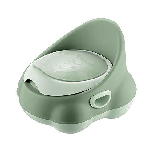 Children's toilet Enfants Toilette- Toilettes pour Enfants Petit Pot pour Homme Et Femme Urinoir 1-3-6 Ans Tabouret pour Bébé Vert