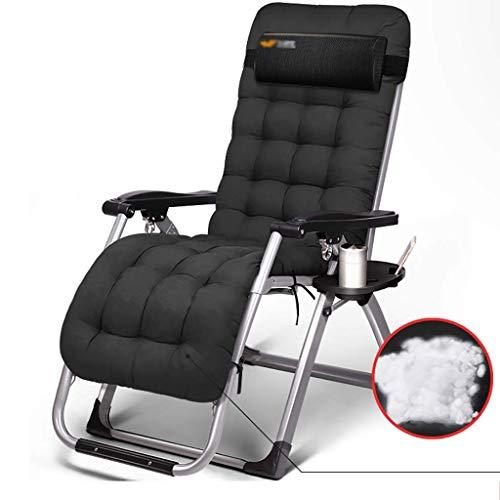 LVLUOYE Fauteuil Relax,Plage Chaise à Bascule, chaises Longues réglables, Chaise Multi-lit pour Jardin extérieur (Couleur: B) C (Couleur: B) -D