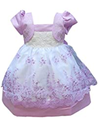 Etosell enfant Bébé Fille Robe Princesse Bouffante Cérémonie Baptême Mariage 6M-4A