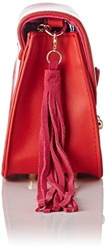 Lollipops Damen Bunglea Side Schultertasche, 8x14x18 centimeters Rot (Red)