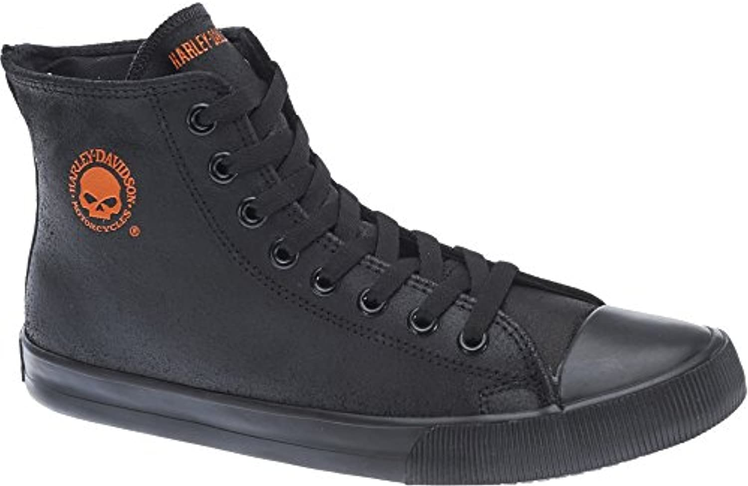 Donna Uomo Harley Davidson Mens Baxter Leather Trainers